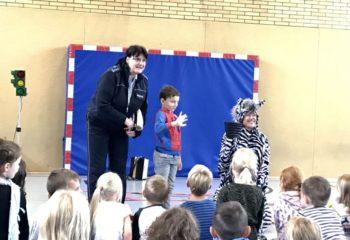 """Theaterstück """"Das kleine Zebra"""""""